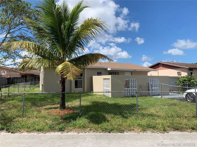19164 NW 28th Ct, Miami Gardens, FL 33056 (MLS #A10754198) :: Berkshire Hathaway HomeServices EWM Realty