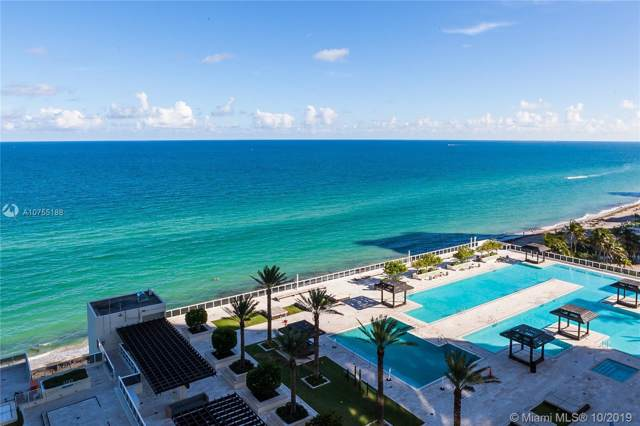 1830 S Ocean Dr #1606, Hallandale, FL 33009 (MLS #A10755188) :: The Riley Smith Group