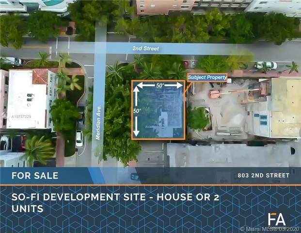 803 2nd St, Miami Beach, FL 33139 (MLS #A10757229) :: The Teri Arbogast Team at Keller Williams Partners SW