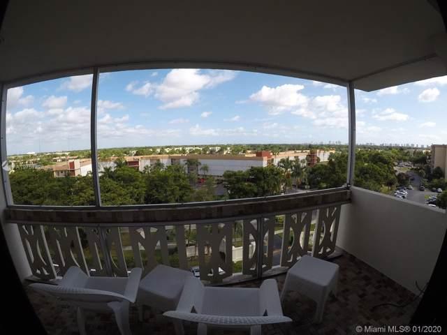 800 NE 195th St #713, Miami, FL 33179 (MLS #A10757828) :: Green Realty Properties