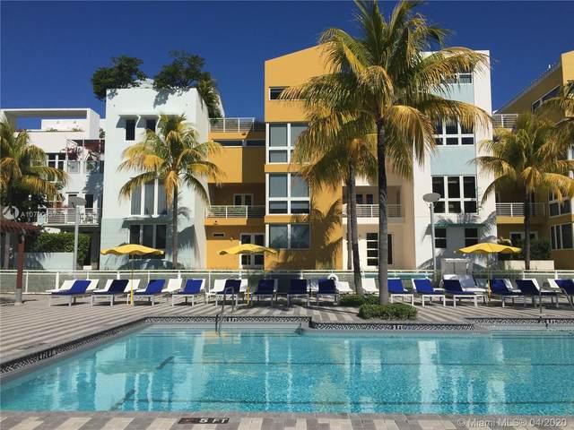 217 Aqua Ter #217, Miami Beach, FL 33141 (MLS #A10760937) :: THE BANNON GROUP at RE/MAX CONSULTANTS REALTY I