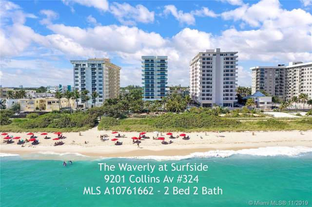 9201 Collins Ave #324, Surfside, FL 33154 (MLS #A10761662) :: The Jack Coden Group