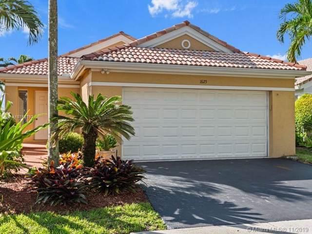 1625 Salerno Cir, Weston, FL 33327 (MLS #A10763792) :: Green Realty Properties