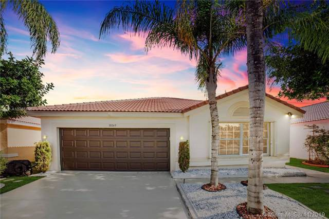18145 SW 5th Ct, Pembroke Pines, FL 33029 (MLS #A10766106) :: The Jack Coden Group