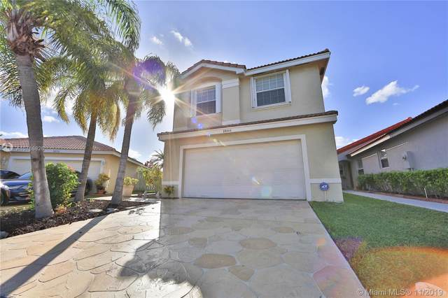 1866 SW 177th Ter, Miramar, FL 33029 (MLS #A10766826) :: The Jack Coden Group
