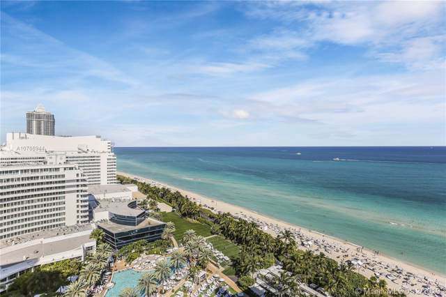 4391 Collins Ave #1904, Miami Beach, FL 33140 (MLS #A10766944) :: Berkshire Hathaway HomeServices EWM Realty