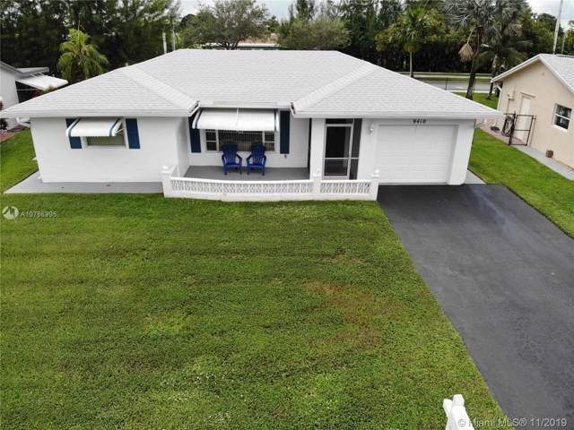 9410 NW 81st Ct, Tamarac, FL 33321 (MLS #A10766995) :: Berkshire Hathaway HomeServices EWM Realty