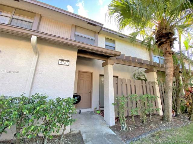 4747 NW 82nd Ave #1202, Lauderhill, FL 33351 (MLS #A10768545) :: Berkshire Hathaway HomeServices EWM Realty