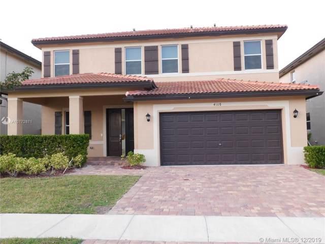 4109 NE 21st St, Homestead, FL 33033 (MLS #A10772871) :: Albert Garcia Team