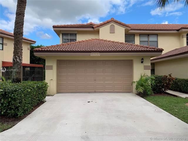 12228 Sag Harbor Ct #6, Wellington, FL 33414 (MLS #A10774526) :: Green Realty Properties