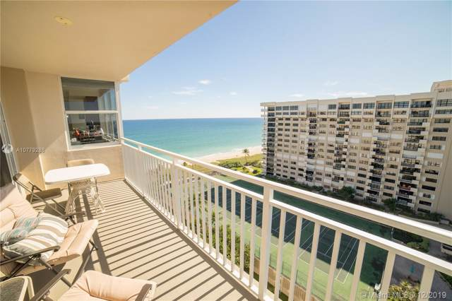5200 N Ocean Blvd 1515A, Lauderdale By The Sea, FL 33308 (MLS #A10779288) :: The Howland Group
