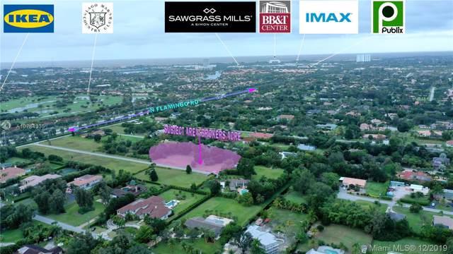 12251 NW 4th Ct, Plantation, FL 33325 (MLS #A10784335) :: Grove Properties