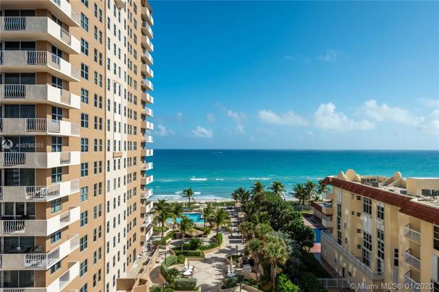 1920 S Ocean Dr 9B, Hallandale, FL 33009 (MLS #A10786203) :: The Howland Group