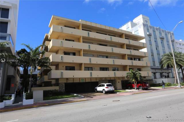 2924 Collins Ave #503, Miami Beach, FL 33140 (MLS #A10786403) :: ONE Sotheby's International Realty