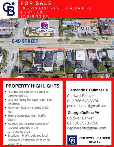 520 E 49th St, Hialeah, FL 33013 (MLS #A10789602) :: Berkshire Hathaway HomeServices EWM Realty