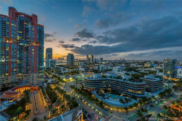 50 S Pointe Dr #2005, Miami Beach, FL 33139 (MLS #A10790717) :: The Paiz Group