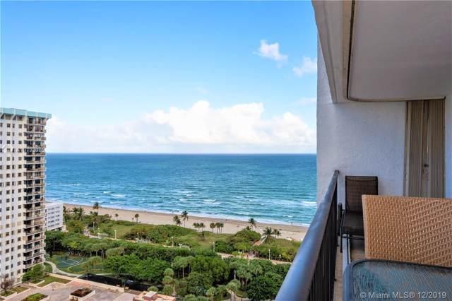 1201 S Ocean Dr 2109S, Hollywood, FL 33019 (MLS #A10792035) :: Patty Accorto Team