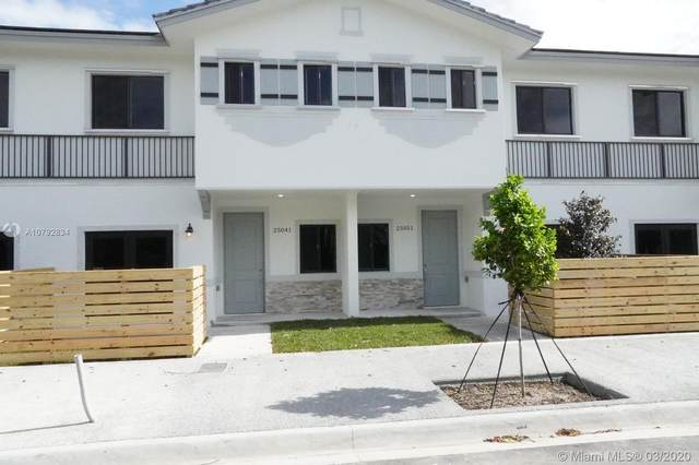 13344 SW 250 St #13344, Homestead, FL 33032 (MLS #A10792834) :: THE BANNON GROUP at RE/MAX CONSULTANTS REALTY I