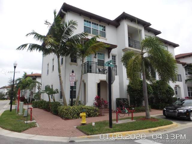 11961 SW 28th Ct #11961, Miramar, FL 33025 (MLS #A10794413) :: The Teri Arbogast Team at Keller Williams Partners SW