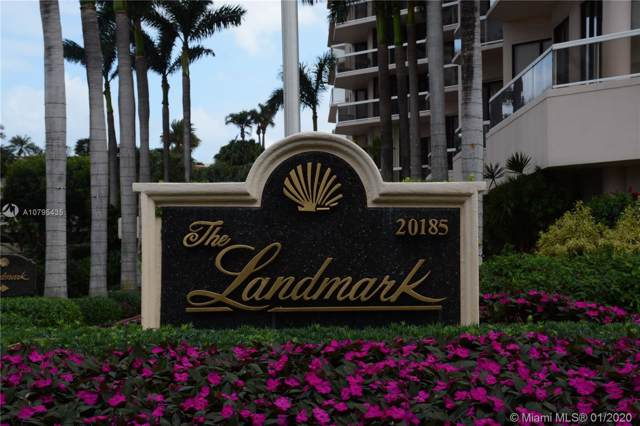 20185 E Country Club Dr #1705, Aventura, FL 33180 (MLS #A10795435) :: The Pearl Realty Group