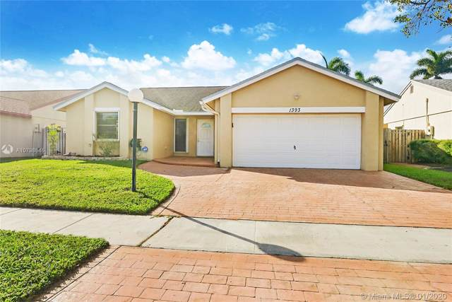 1393 SW 151st Ter, Sunrise, FL 33326 (#A10798645) :: Real Estate Authority