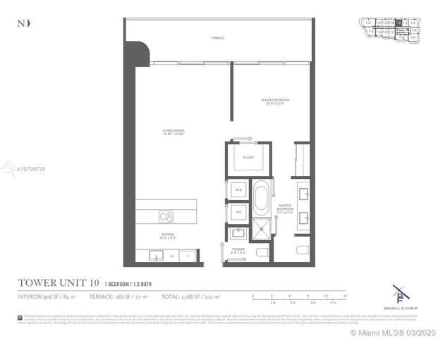 1000 Brickell Plaza #2210, Miami, FL 33131 (MLS #A10799735) :: The Rose Harris Group