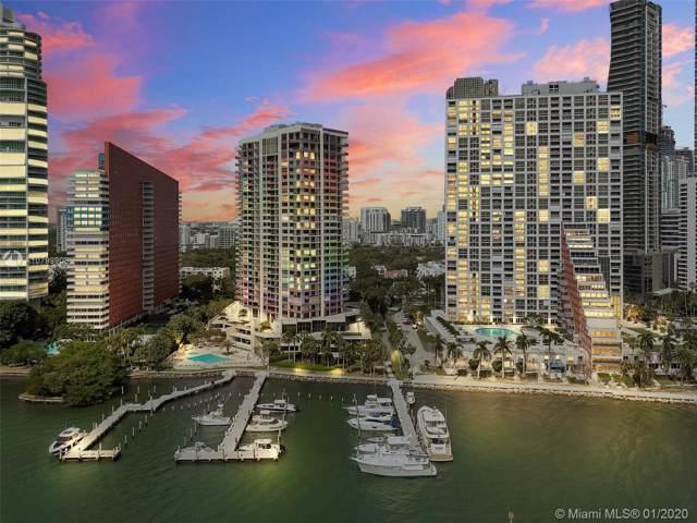 1581 Brickell Ave #1805, Miami, FL 33129 (MLS #A10799908) :: The Paiz Group