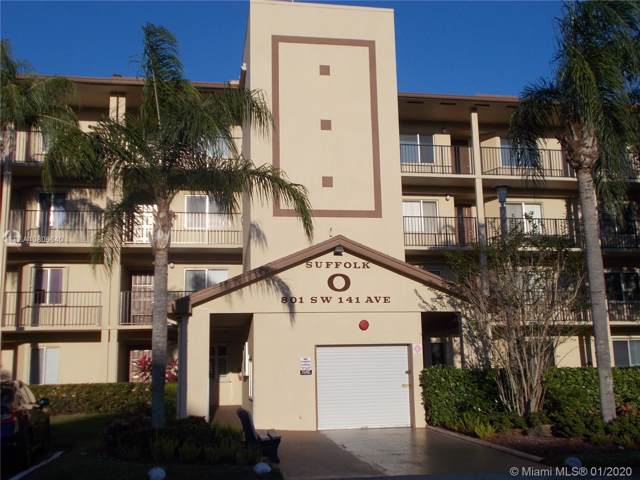 801 SW 141st Ave 407O, Pembroke Pines, FL 33027 (MLS #A10806640) :: GK Realty Group LLC