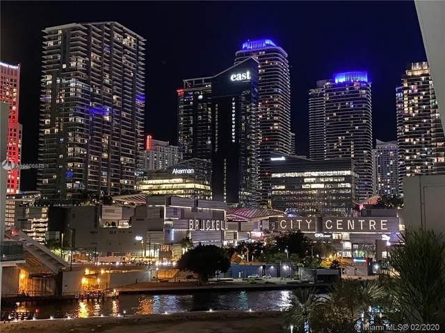 68 SE 6th St #1010, Miami, FL 33131 (MLS #A10806848) :: Castelli Real Estate Services