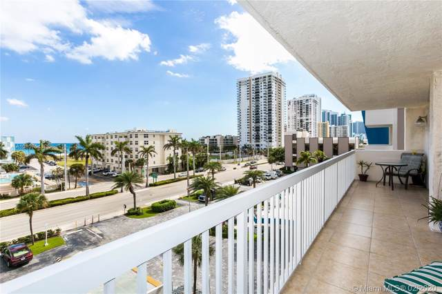 1500 S Ocean Dr 5G, Hollywood, FL 33019 (MLS #A10807543) :: ONE Sotheby's International Realty