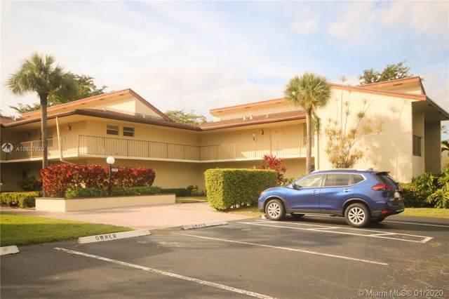 8791 Holly Ct #104, Tamarac, FL 33321 (MLS #A10807820) :: Green Realty Properties