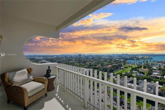 10205 Collins Ave #1701, Bal Harbour, FL 33154 (MLS #A10809665) :: ONE Sotheby's International Realty