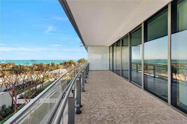 8701 Collins Avenue #405, Miami Beach, FL 33154 (MLS #A10810300) :: Berkshire Hathaway HomeServices EWM Realty