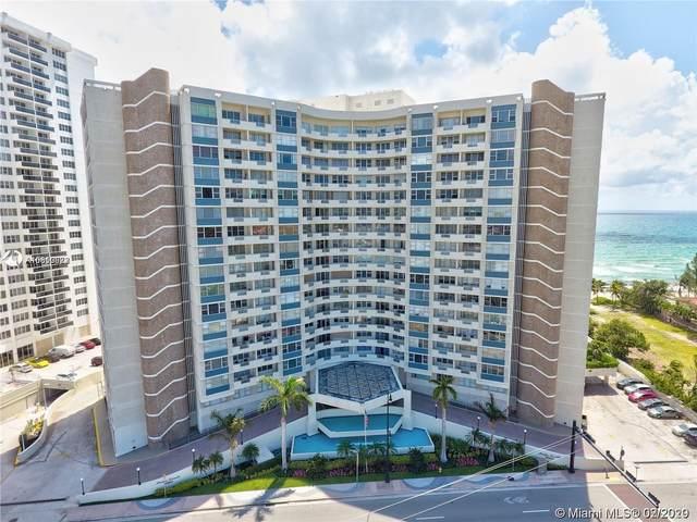 3180 S Ocean Dr #619, Hallandale Beach, FL 33009 (MLS #A10810872) :: Berkshire Hathaway HomeServices EWM Realty
