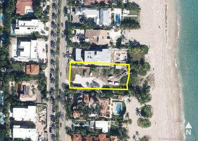 255 Ocean Blvd, Golden Beach, FL 33160 (MLS #A10811581) :: ONE Sotheby's International Realty