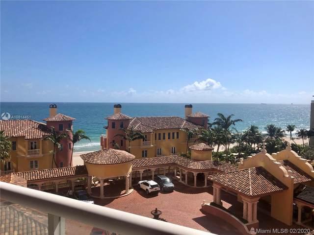 2110 N Ocean Blvd 8F, Fort Lauderdale, FL 33305 (MLS #A10814451) :: The Teri Arbogast Team at Keller Williams Partners SW