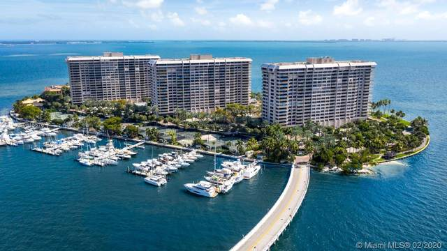 2 Grove Isle Dr B302, Miami, FL 33133 (MLS #A10815570) :: Berkshire Hathaway HomeServices EWM Realty