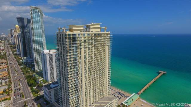 16699 Collins Ave #3709, Sunny Isles Beach, FL 33160 (MLS #A10818038) :: United Realty Group