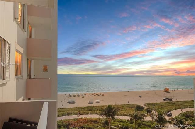 345 Ocean Dr #812, Miami Beach, FL 33139 (MLS #A10819517) :: The Howland Group