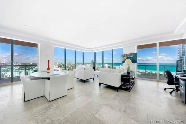 300 S Pointe Dr #1705, Miami Beach, FL 33139 (MLS #A10822025) :: Castelli Real Estate Services