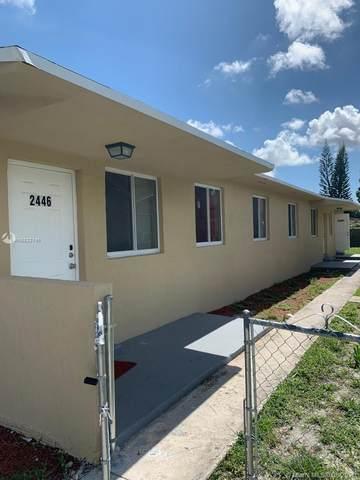 2446 NW 44th St, Miami, FL 33142 (MLS #A10822145) :: Berkshire Hathaway HomeServices EWM Realty