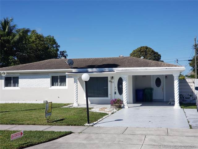 1851 SW 42nd Ave, Fort Lauderdale, FL 33317 (MLS #A10822535) :: THE BANNON GROUP at RE/MAX CONSULTANTS REALTY I