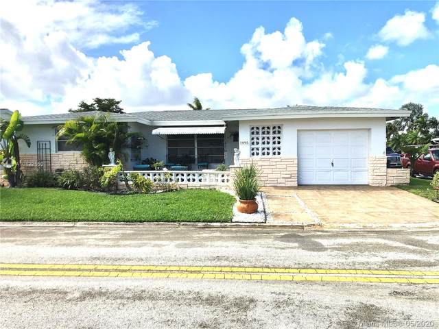 1495 NW 68th Ter, Margate, FL 33063 (MLS #A10822550) :: Re/Max PowerPro Realty
