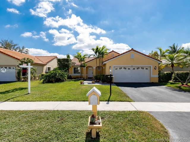 451 NW 190th Ave, Pembroke Pines, FL 33029 (MLS #A10825064) :: The Jack Coden Group