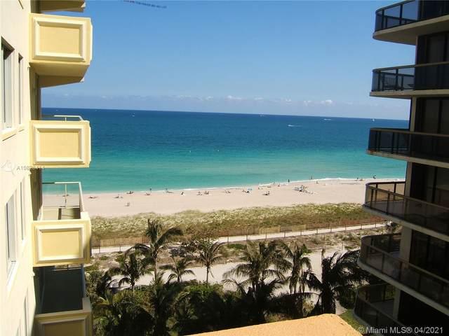 9499 Collins Ave #704, Surfside, FL 33154 (#A10826414) :: Posh Properties