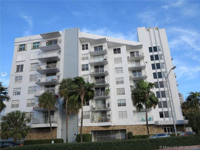 6801 Indian Creek Dr #808, Miami Beach, FL 33141 (MLS #A10829958) :: Ray De Leon with One Sotheby's International Realty