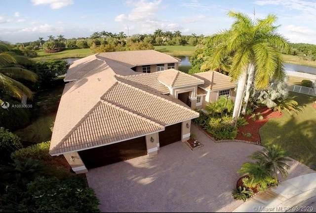 1393 Victoria Isle Lane, Weston, FL 33327 (MLS #A10830638) :: The Teri Arbogast Team at Keller Williams Partners SW
