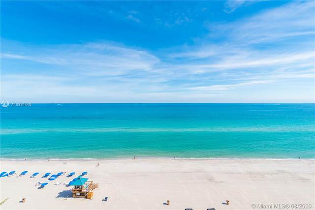 18555 Collins Ave #3401, Sunny Isles Beach, FL 33160 (MLS #A10831440) :: Berkshire Hathaway HomeServices EWM Realty