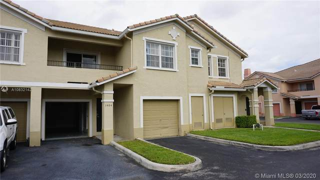 1404 Belmont Ln #1404, North Lauderdale, FL 33068 (MLS #A10832142) :: Grove Properties