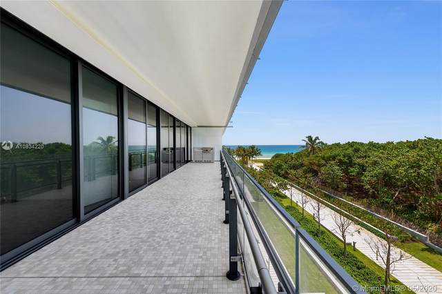 8701 Collins Ave #404, Miami Beach, FL 33154 (MLS #A10834220) :: Ray De Leon with One Sotheby's International Realty